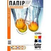 Бумага для фотопринтера ColorWay ПГ210-500 (PG2105004R) фото