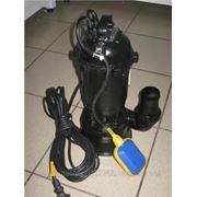 Насос фекальный Cristal WQD10-15 1,3кВт чугунный корпус + поплавок фото
