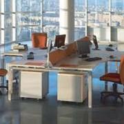 Офисная мебель-рабочее место. фото