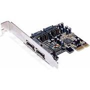 PCI-E на SATA3 контроллер 2 внешних плюс 2 внутренних SATA3 Orient A1061S до 6TB, чип ASM1061 фото