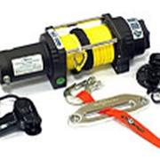 Лебедка электрическая ATV и SUV СТОКРАТ QX 4.5 SL, 12V, 1.8 h.p. с удлиненным стальным барабаном. фото