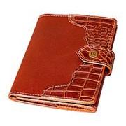 Портмоне для документов с отделениями для карт и паспорта фото