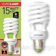 Энергосберегающая лампа T2Spiral 15W 2700K E27 фото