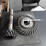 Зубчатая пара с круговым зубомредуктора кцц 32 фото