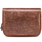 """Кожаная сумка """"Риана"""" (светло-коричневая) фото"""