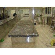 Изготовим и установим столешницы из натурального камня мрамора гранита фото