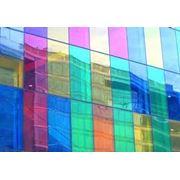 Испытание цветного стекла фото
