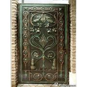 Двери кованые