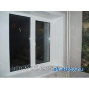Окно (ПВХ) 1500*1500 пластиковое в кухню или спальню фото