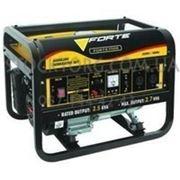 Бензиновый генератор Forte FG 3500 фото
