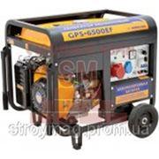 Бензиновый генератор Sadko GPS-6500EF фото