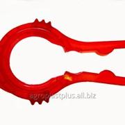 """Ключ TWIST-OFF """"Витязь"""" пластиковый для 5 диаметров + рычаг для крышек фото"""