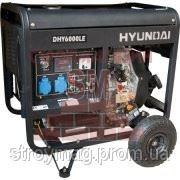 Дизельный генератор Hyundai DHY 6000LE фото
