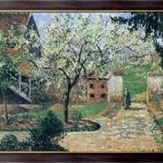 Картина Цветущая слива, Эрани, 1894, Писсарро, Камиль фото