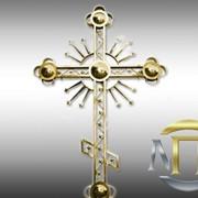 Кресты православные с напылением нитридом титана фото