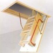 Чердачная лестница FAKRO LWK Komfort, 70х120х2.8 фото