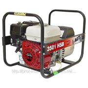 Бензиновый генератор AGT 3501 HSB SE (однофазный) фото