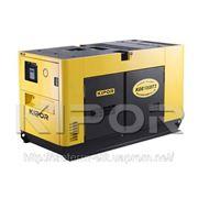 Дизельный генератор (электростанция) KDА100STО3 фото