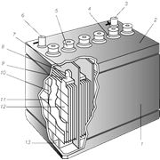 Аккумуляторы свинцовые фото