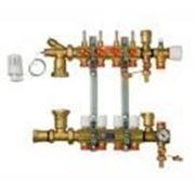 Коллектор для теплого пола R557FY004 Giacomini Spa