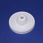 Z110.27 Шестеренка редуктора для мясорубки Bosch (d-68/30/19 мм, зуб. 50/16) фото