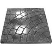 Формы для тротуарной плитки «Львовский тротуар» глянцевые пластиковые АБС ABS фото