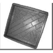 Формы для тротуарной плитки «Колодец» глянцевые пластиковые АБС ABS фото