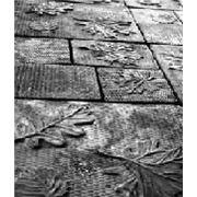 Формы для тротуарной плитки «Осень» глянцевые пластиковые АБС ABS фото