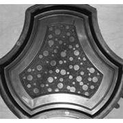 Формы для тротуарной плитки «Медуза» глянцевые пластиковые АБС ABS фото