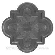 Формы плитки Лилия малая 215х215х45 мм фото