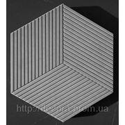 Формы для тротуарной плитки «Шестигранник-Ромб» глянцевые пластиковые АБС ABS фото