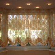 Австрийские шторы и гардины. Изготовление на заказ. фото
