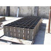 Металлические форм-оснастки для производства пеноблоков. фото