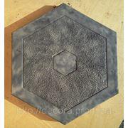 Формы для тротуарной плитки «Шестигранник- Шестиугольник» глянцевые пластиковые АБС ABS фото