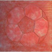 Формы для тротуарной плитки «Мяч» глянцевые пластиковые АБС ABS фото