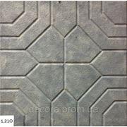 Формы для тротуарной плитки «Арабика No2» глянцевые пластиковые АБС ABS фото