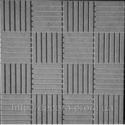 Формы для тротуарной плитки «Шоколадка» глянцевые пластиковые АБС ABS фото