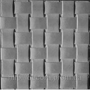 Формы для тротуарной плитки «Плетенка» глянцевые пластиковые АБС ABS фото