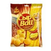 """Кукурузные шарики """"СЫР BALL"""" со вкусом острого сыра фото"""