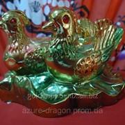 Сувенир Уточки-мандаринки золотые фото