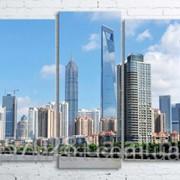 Модульна картина на полотні Шанхай. Китай код КМ100200(176)-081 фото