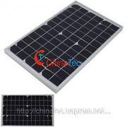 Панель солнечной батареи 10W 18V фото