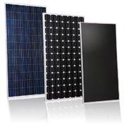 Солнечные фотоэлектрические панели для электростанций и объектов с автономным электроснабжением фото