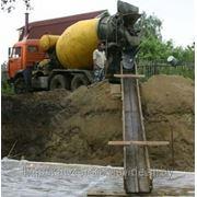 Бетон, доставка миксерами., Минск фото