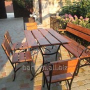 Комплект мебели для дачи, кафе 4 стула + 1 стол фото