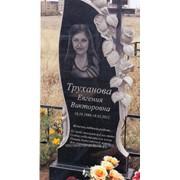 Памятники с розами и свечой 17 фото