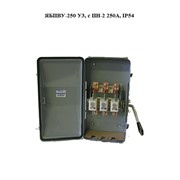 Ящик силовой ЯБПВУ-250 У3, с ПН-2 250А, IP54 фото
