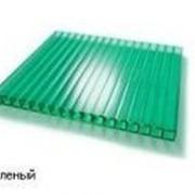 Сотовый поликарбонат 4мм зеленый BORREX (Боррекс) фото