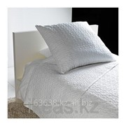 Покрывало и чехол на подушку, белый АЛИНА фото