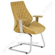 Кресло для посетителей Lesli U Ayak Misafir Koltugu , код CMF 04 фото